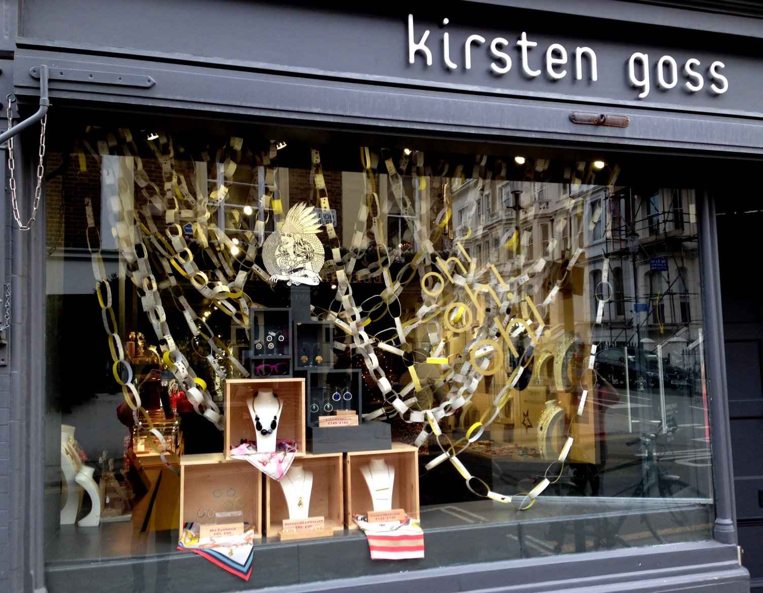 dc5ae94e7639f Oh! oh! oh! The KG Christmas window!